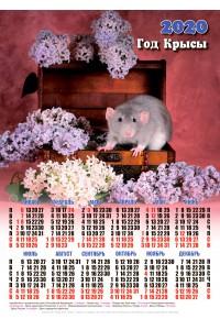 20007 Серёня - 2020 (Листовой настенный календарь формат А3)