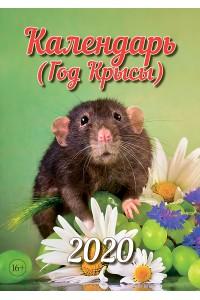 Эрудит. Календарь (Год Крысы) - 2020 (Формат А4, настенный)
