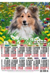 01003 Симба - 2022 (Листовой календарь, формат А2)